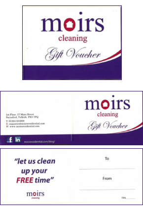 Moirs Cleaning Gift Card